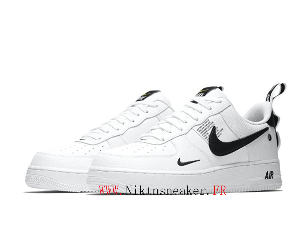 chaussures homme Nike Air Force 1 07 LV8 Blanc 823511 103