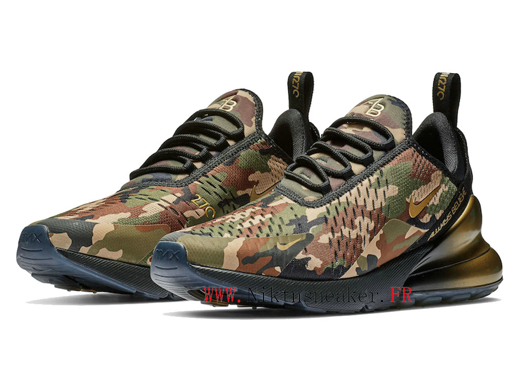 2020 Nike Air Max 270 Doernbecher Black / Green BV7112-001 Running Shoes Cushion Cheap Men ́s