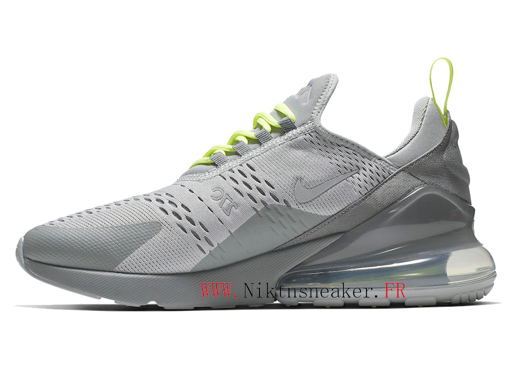 2020 Nike Air Max 270 Gray / Green CD7337-001 Men ́s Running Shoes Cushion Cheap