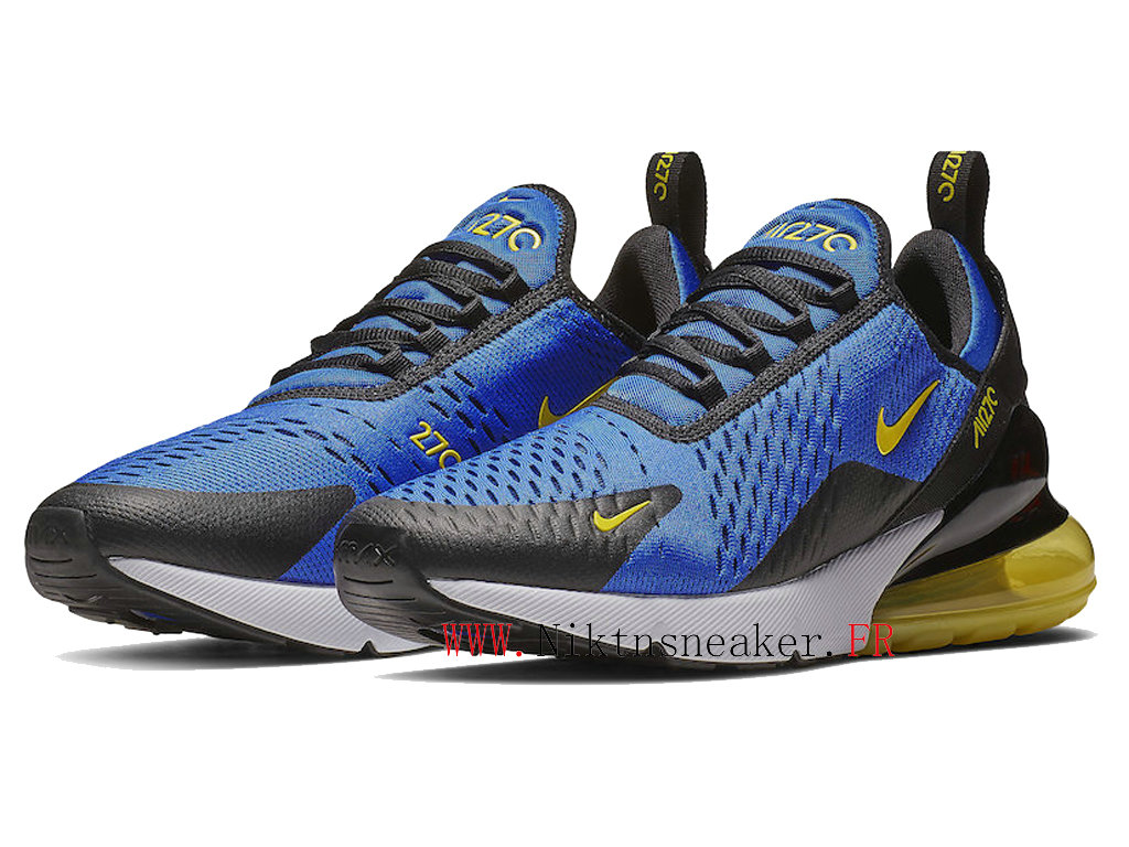 2020 Nike Air Max 270 Black / White Blue BV2517-400 Running Shoes Cushion Cheap Men ́s Women ́s