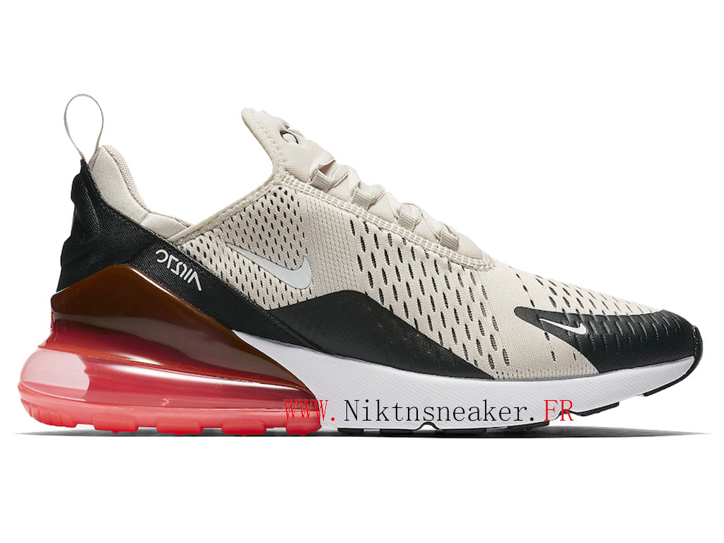 2020 Nike Air Max 270 Black / White / Pink AH8050-003 Running Shoes Cushion Cheap Men ́s Women ́s