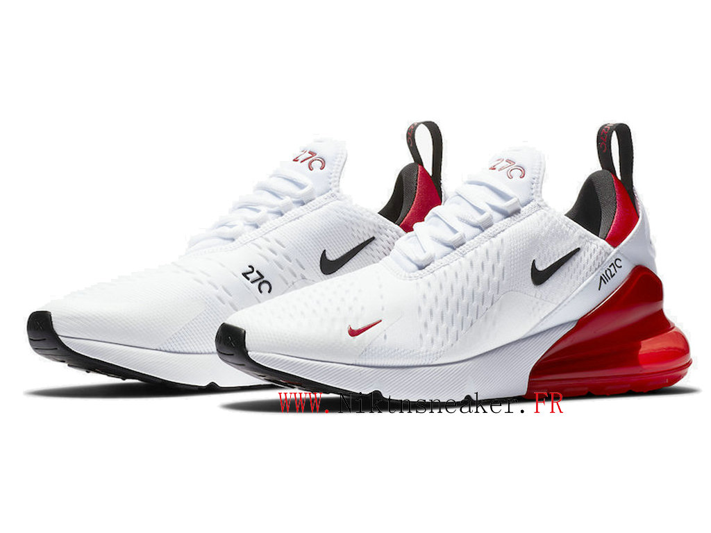 2020 Nike Air Max 270 Black / White Red BV2523-100 Running Shoes Cushion Cheap Men ́s Women ́s