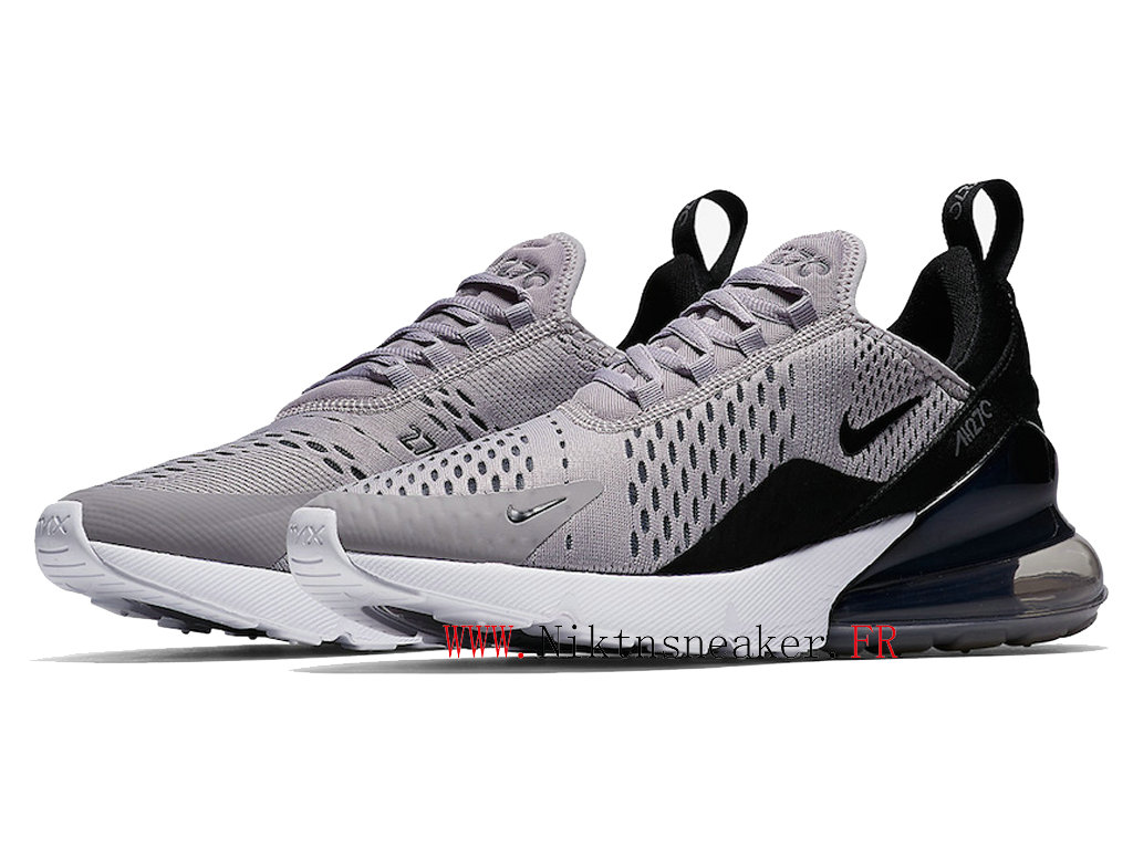 2020 Nike Air Max 270 Black / Gray / Bench AH6789-007 Men ́s Running Shoes Cushion Cheap