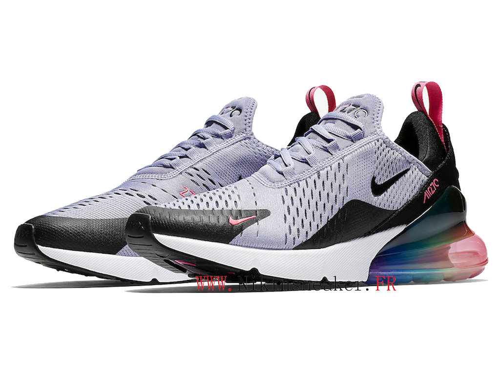 2020 Nike Air Max 270 Black / Gray White AR0344-500 Men ́s Women ́s Running Shoes Cushion Cheap