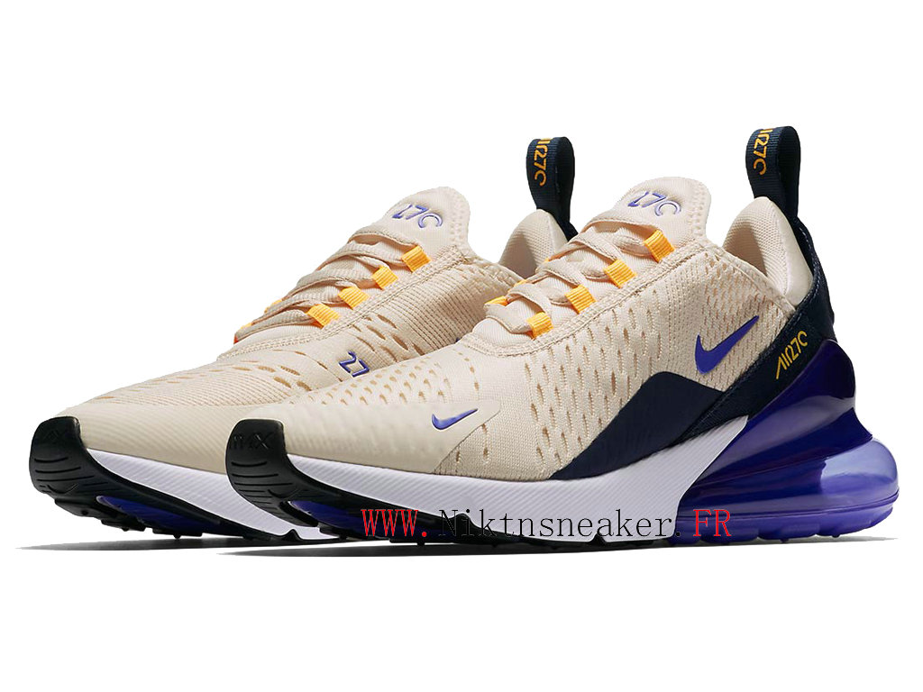 2020 Nike Air Max 270 Black / Gray / White-Purple AH6789-202 Running Shoes Cushion Cheap Men ́s Women ́s