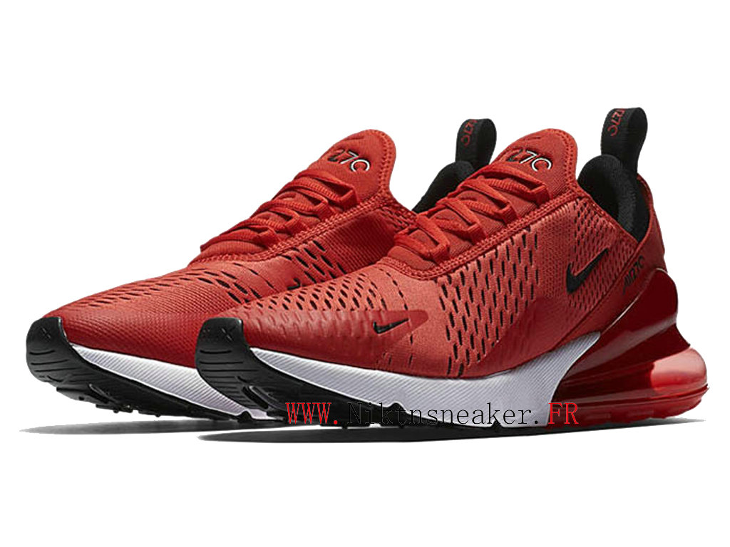 2020 Nike Air Max 270 Black / Red / White AH8050-601 Running Shoes Cushion Cheap Men ́s Women ́s
