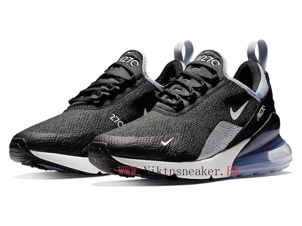 2020 Nike Air Max 270 Black / Green / White AH6789-009 Running Shoes Cushion Cheap Men ́s Women ́s