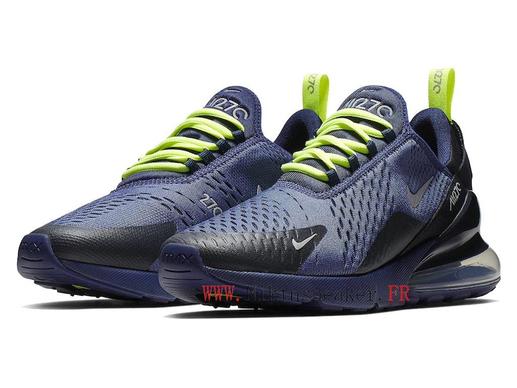 2020 Nike Air Max 270 Black / Purple / Green CD7337-400 Men ́s Cushion Running Shoes Cheap