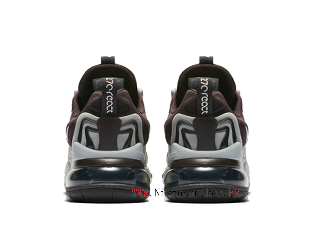 2020 Nike Air Max 270 React ENG Black / Gray / Brown CK2595 600 Running Shoes Cushion Cheap Women ́s