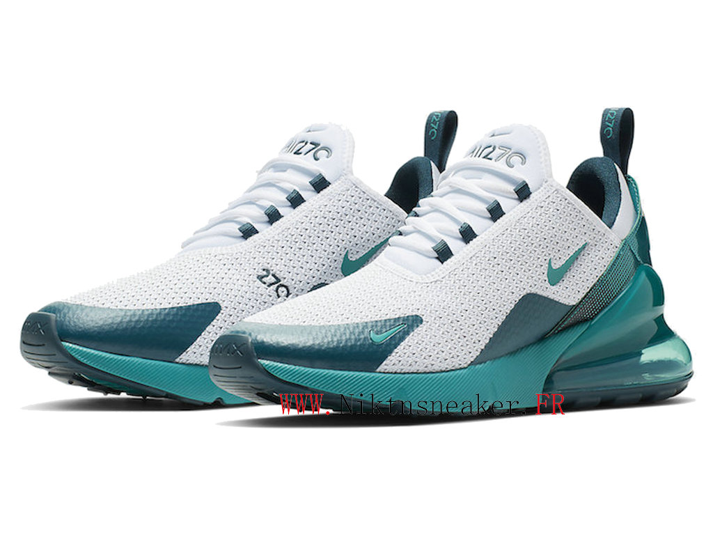 2020 Nike Air Max 270 Green / White AQ9164-102 Men ́s Women ́s Running Shoes Cushion Cheap