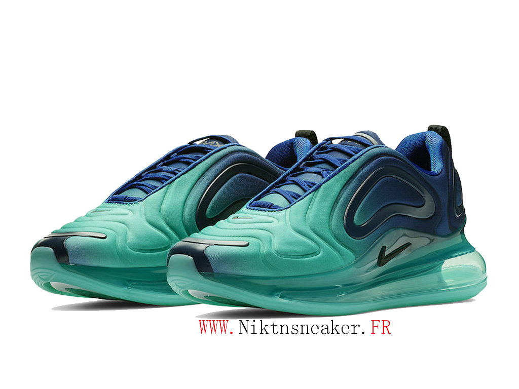 2020 Nike Air Max 720 Blue / Black / Green Cheap Running Shoes For Women ́s Men ́s AO2924-400