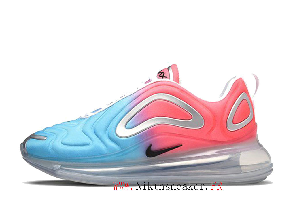 2020 Nike Air Max 720 Gs White / Blue / Red Women ́s Cheap Running Shoes For AR9293-600