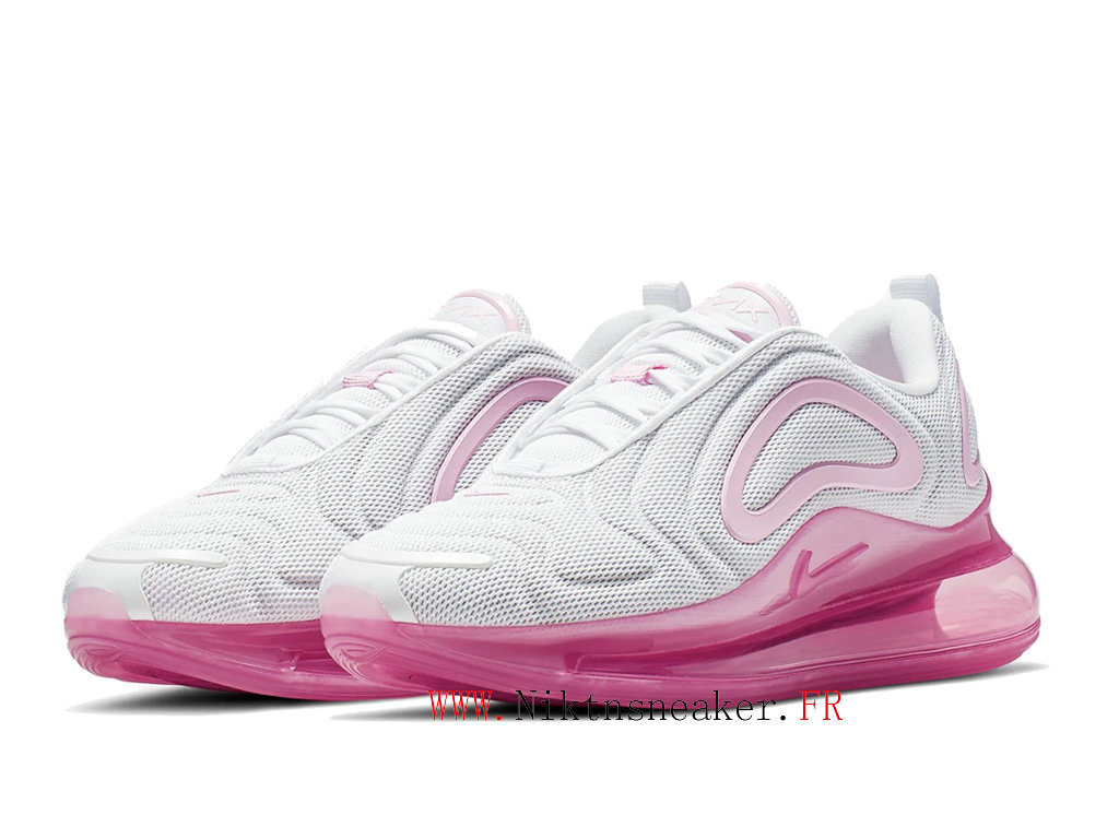 2020 Nike Air Max 720 Gs White / Pink Women ́s Nike Cheap Running Shoes For AR9293-103