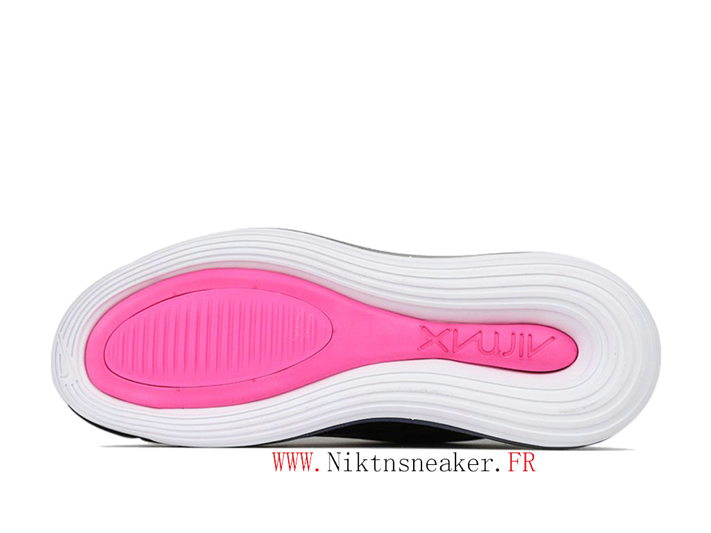 2020 Nike Air Max 720 Gs Black / Pink / White Women ́s Cheap Running Shoes For CD2047-001