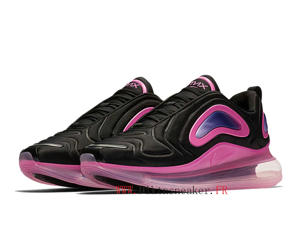 2020 Nike Air Max 720 Gs Black / Pink Women ́s Cheap Running Shoes For AO2924 005
