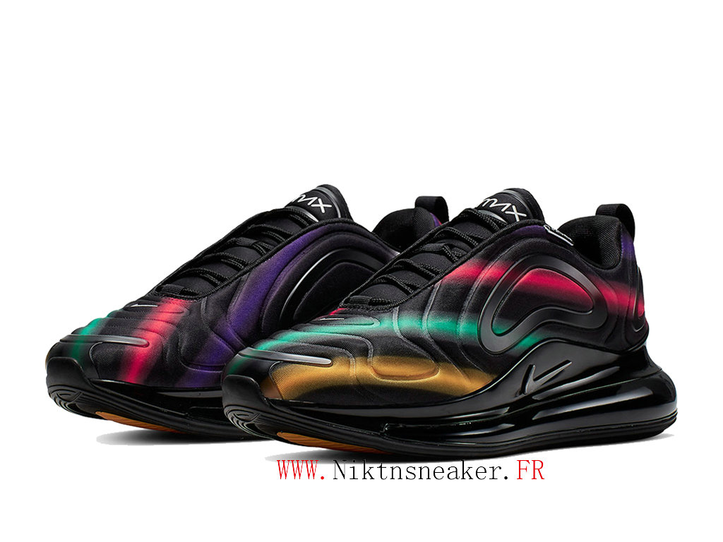 2020 Nike Air Max 720 Black / Red / Green Men ́s Women ́s Nike Cheap Running Shoes For AO2924 023