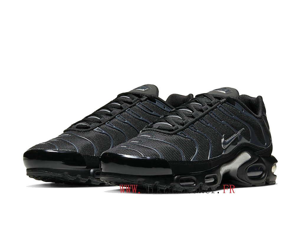 2020 Nike Air Max Plus Tn Black / Silver / Blue 852630-042 Cheap Sportswear Shoes For Men ́s