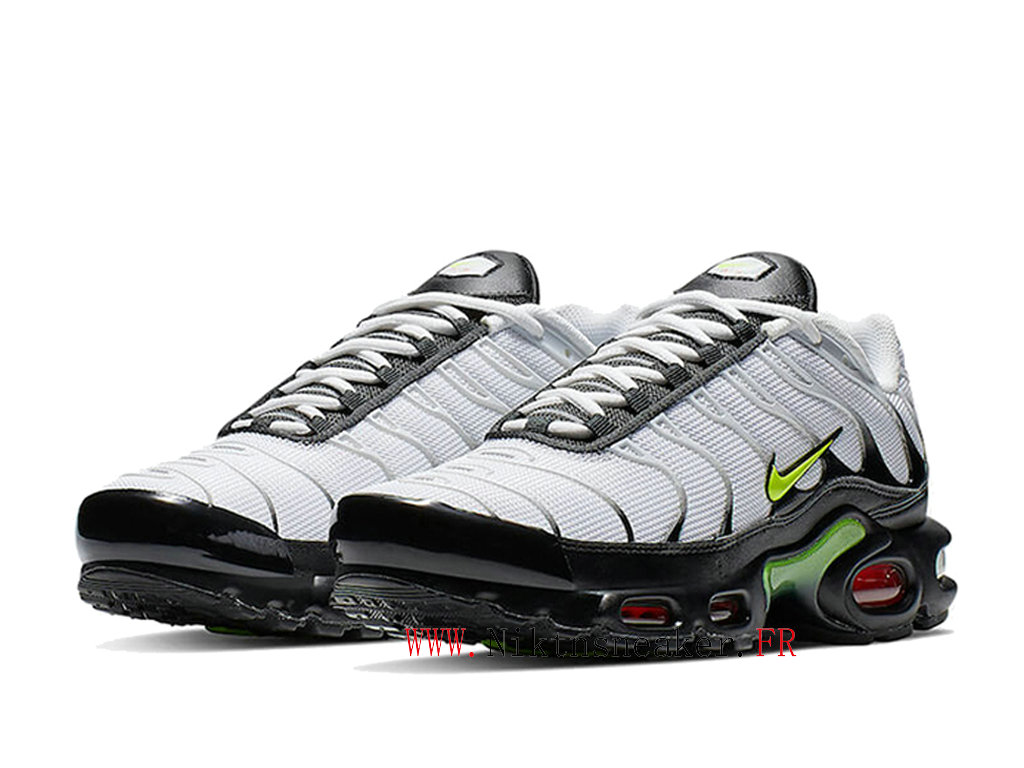 2020 Nike Air Max Plus TN Black / White / Green AJ2013-100 Men ́s Sportswear Cheap Shoes