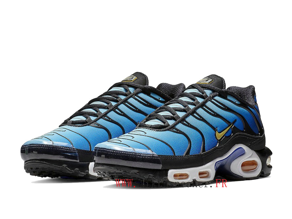 2020 Nike Air Max Plus Tn Black / Blue / White BQ4629-003 Men ́s Sportswear Cheap Shoes