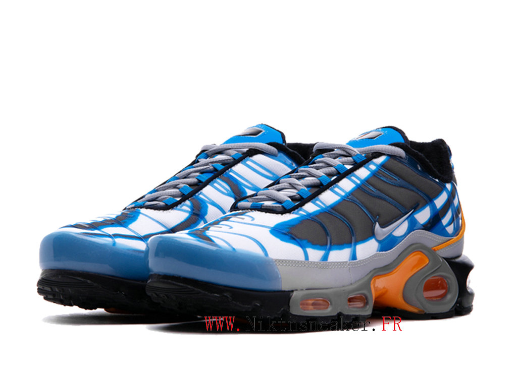 2020 Nike Air Max Plus Tn Black / Gray / Blue 815994-400 Cheap Sportswear Shoes For Men ́s