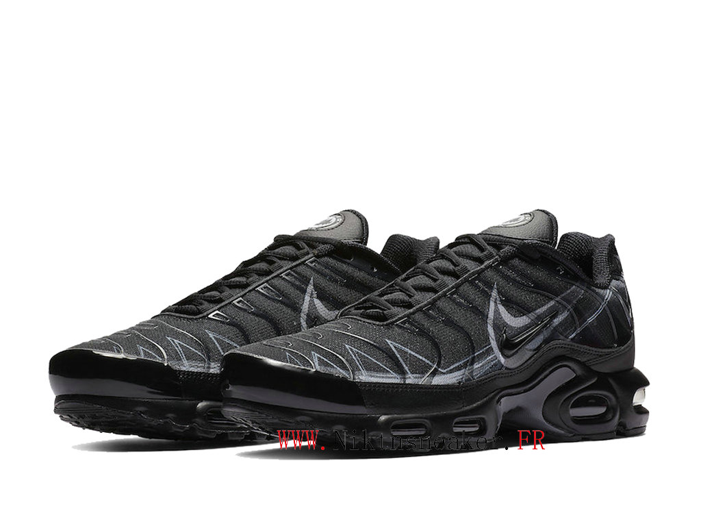 2020 Nike Air Max Plus Tn Black / Gray BV7826-001 Men ́s Sportswear Cheap Shoes