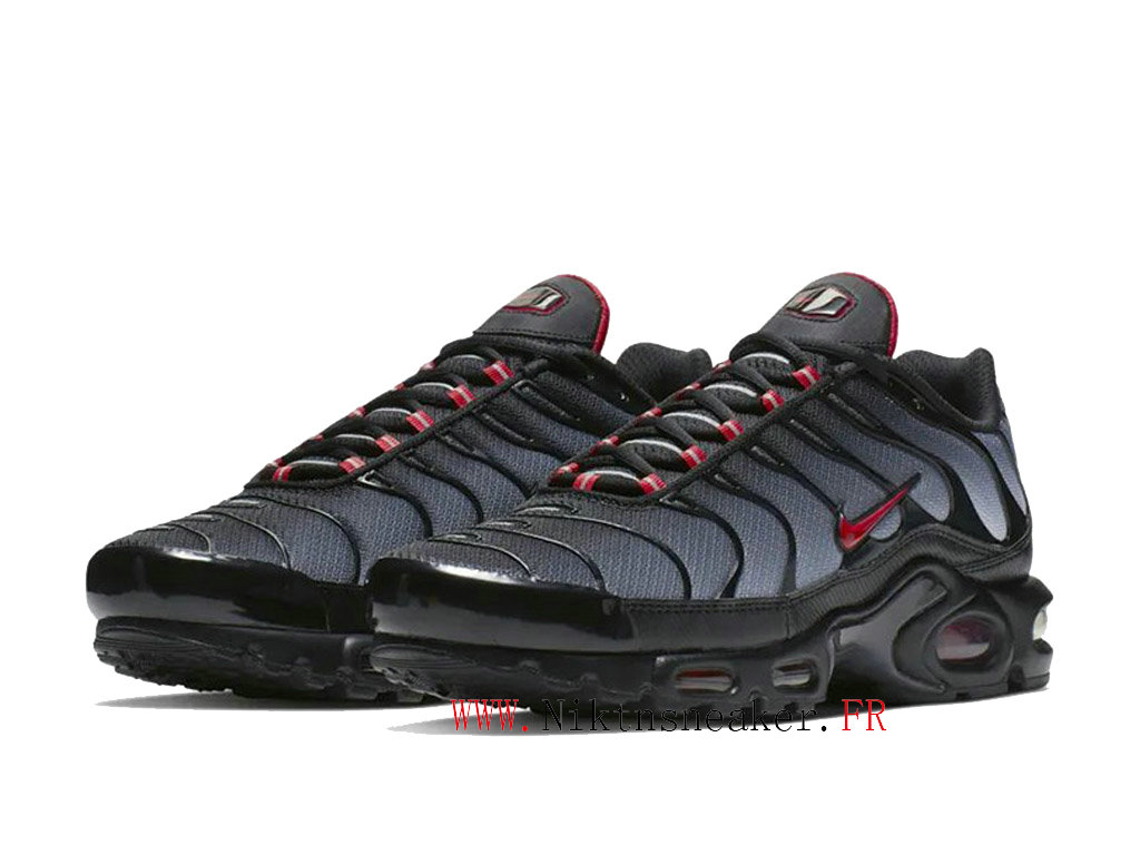 2020 Nike Air Max Plus Tn Black / Gray / Red CI2299 001 Men ́s Sportswear Cheap Shoes