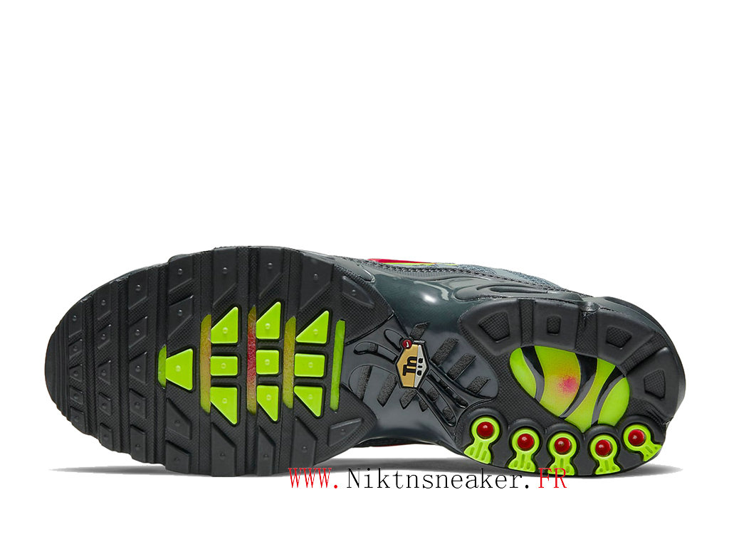 2020 Nike Air Max Plus Tn Black / Gray / Green CQ6359-001 Men ́s Basketball Price Cheap Shoes