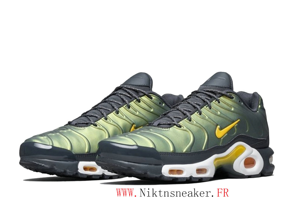2020 Nike Air Max Plus Tn Black / Yellow / White AJ2013-005 Men ́s Basketball Price Cheap Shoes