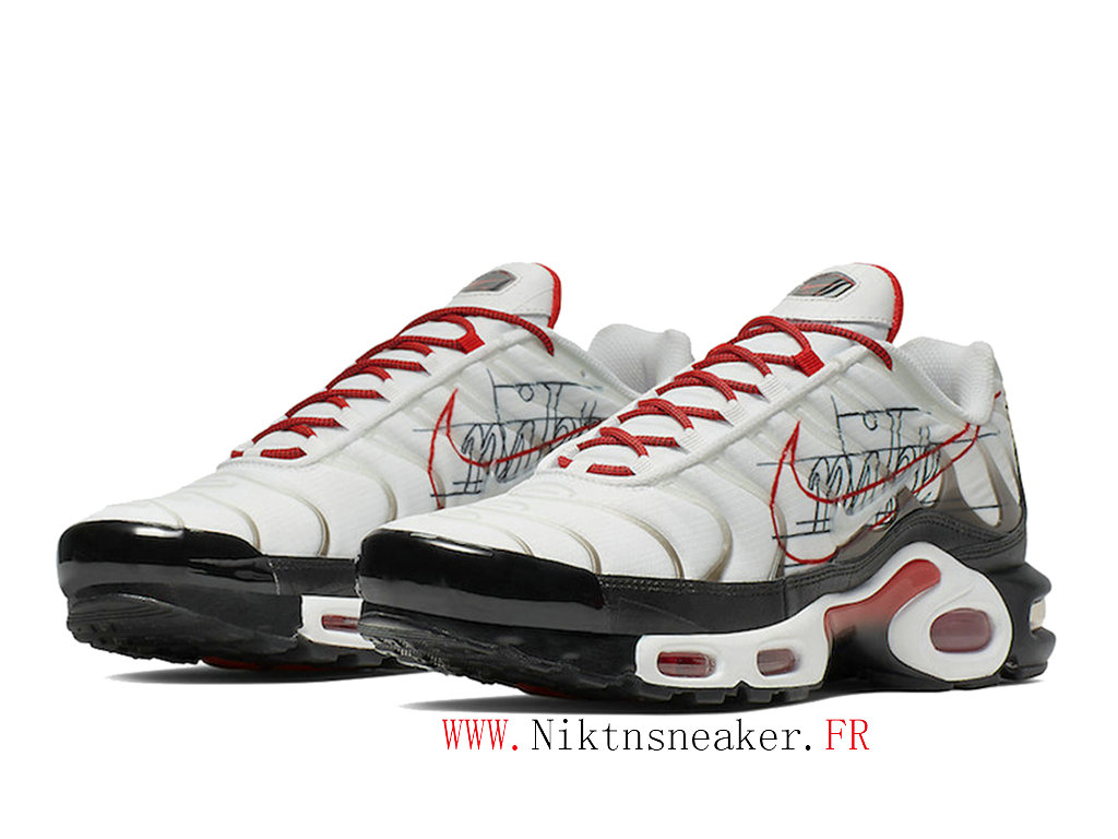 2020 Nike Air Max Plus Tn Black / Red / White CK9392-100 Men ́s Basketball Price Cheap Shoes