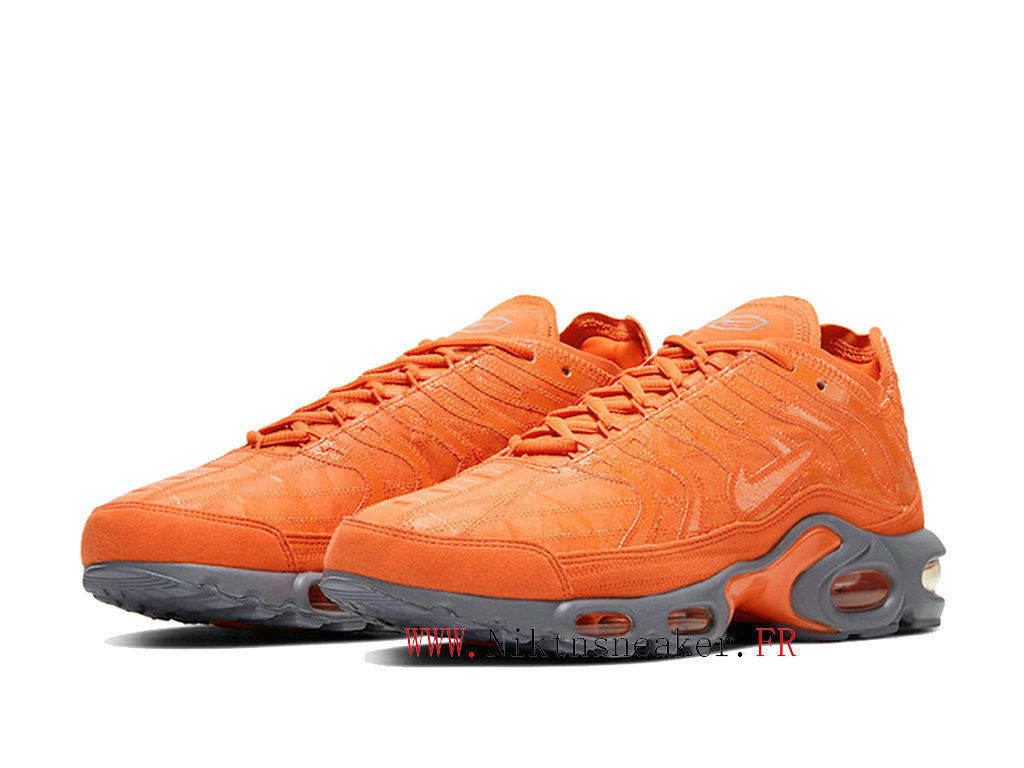 2020 Nike Air Max Plus Tn Orange / Dark Gray CD0882-800 Men ́s Sportswear Cheap Shoes