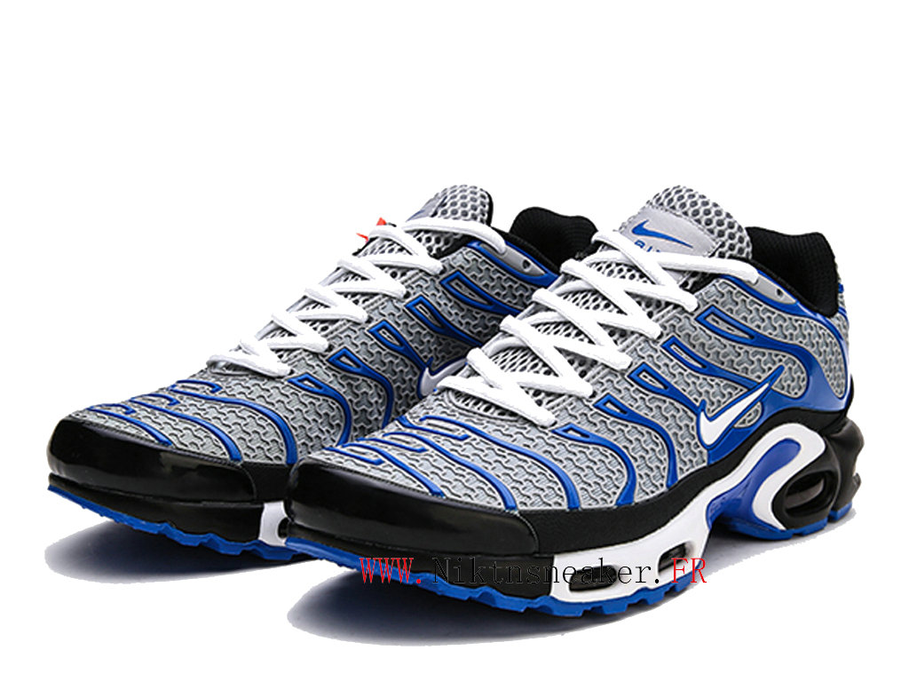 2020 Nike Air Max Tn Requin TXT Black / Blue White 604133-102 Men ́s Sportswear Cheap Shoes