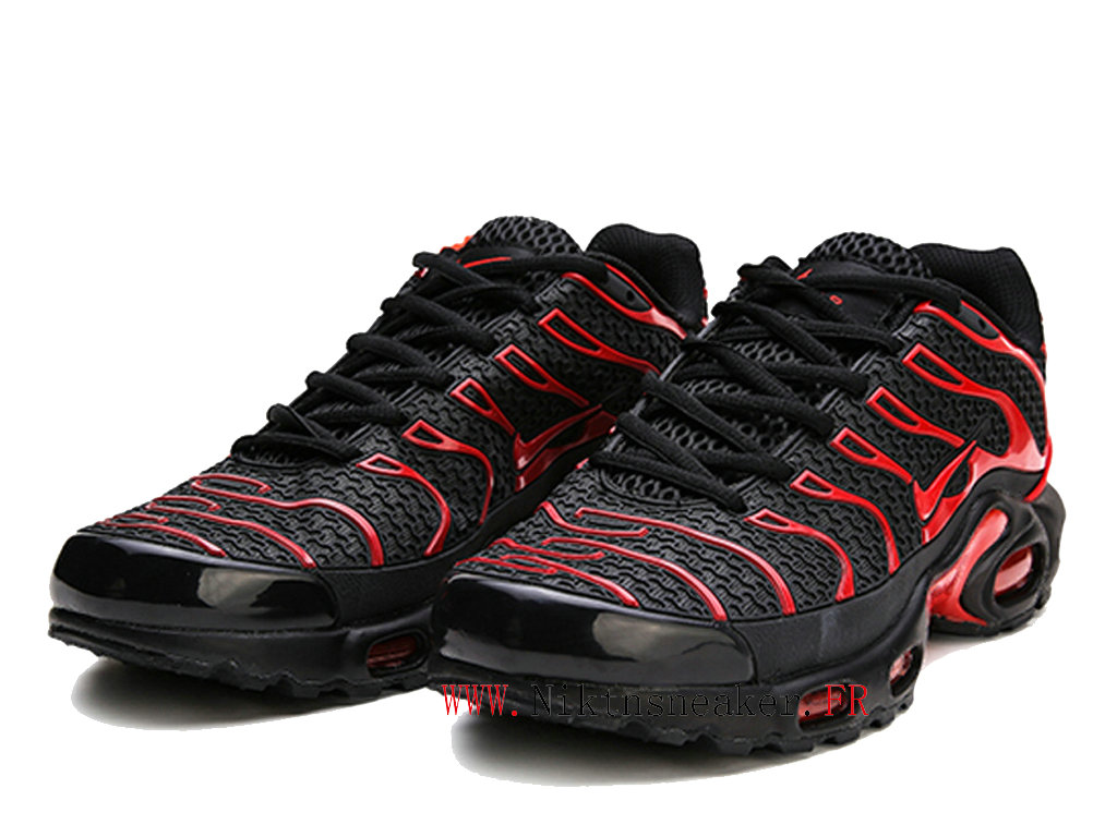 2020 Nike Air Max Tn Requin TXT Black / Red 604133-110 Men ́s Sportswear Cheap Shoes