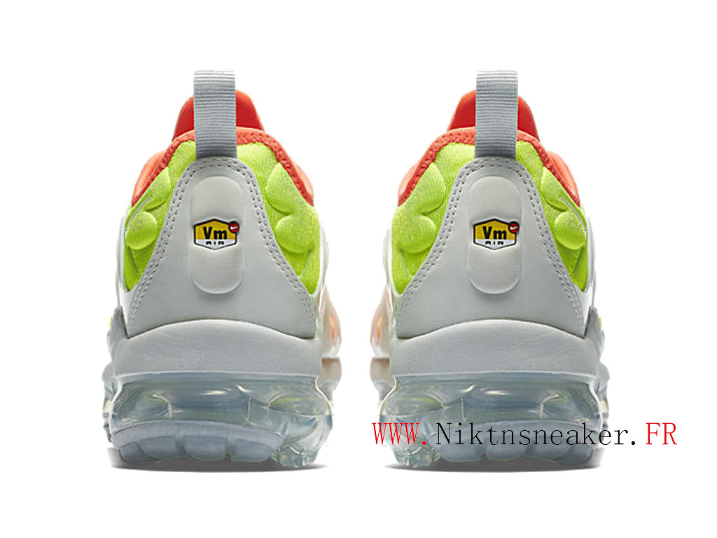 2020 Nike Air Max Vapormax Plus White / Orange AO4550-003 Cair Dair Men ́s Cheap Shoes Women ́s