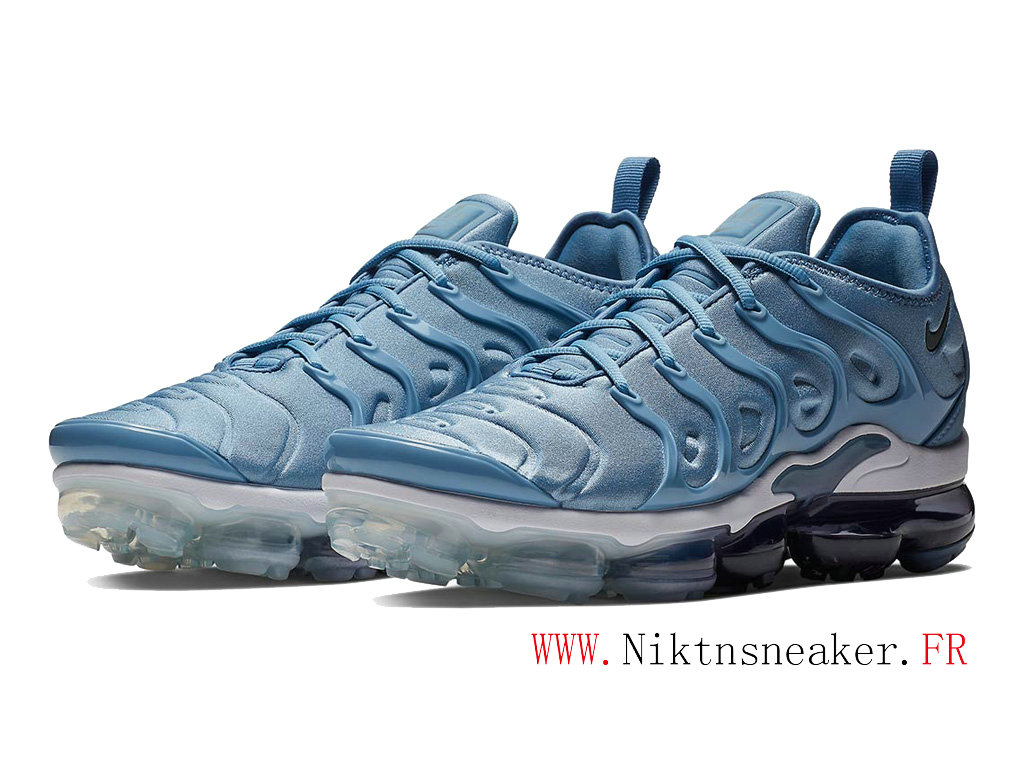 2020 Nike Air Max Vapormax Plus Black / Blue White 924453-402 Cushion Dair Men ́s Cheap Shoes Women ́s