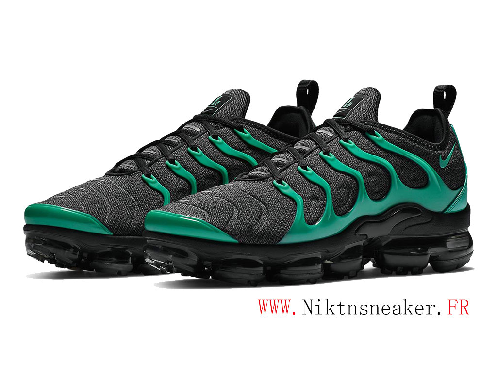 2020 Nike Air Max Vapormax Plus Black / Green 924453-013 Cushion Dair Men ́s Cheap Shoes