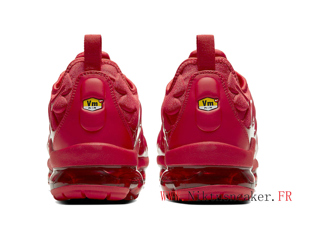 2020 Nike Air VaporMax Plus All-Star / Rouge CW6973-600 Coussin Dair Chaussures Pas Cher Pour Homme Femme