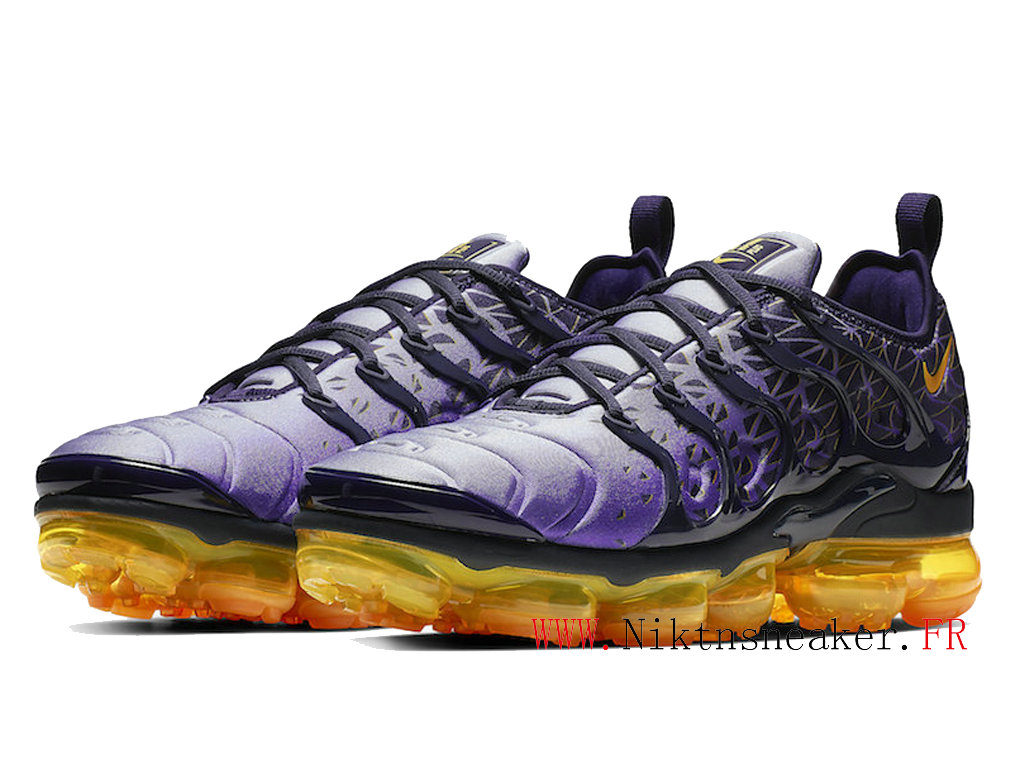 2020 Nike Air VaporMax Plus Black / Purple Orange 924453-406 Dair Cushion Men ́s Cheap Shoes
