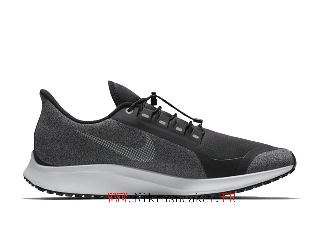 2020 Nike Air ZM Pegasus 35 Shield Black / Gray White AA1643 001 Men ́s Nike Running Shoes Cheap