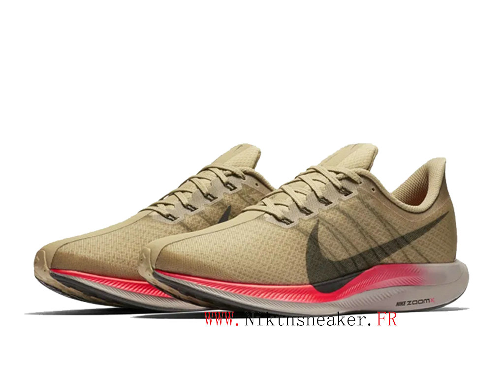 2020 Nike Air Zoom Pegasus 35 AJ4114-200 Men ́s Nike Running Cheap Shoes White / Brown / Black