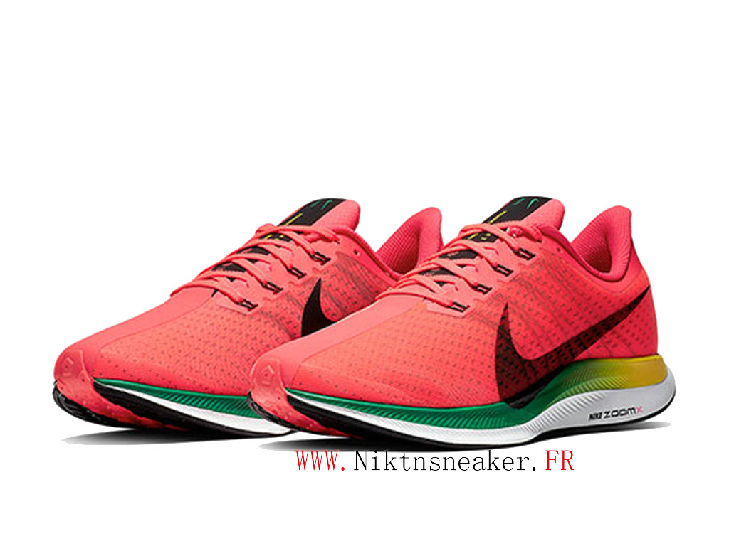 2020 Nike Air Zoom Pegasus 35 BV6104-600 Men ́s Nike Running Cheap Shoes White / Green / Red