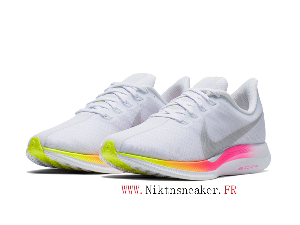 2020 Nike Air Zoom Pegasus 35 Gs CI7696-100 Women ́s Nike Running Cheap Shoes White / Green / Pink