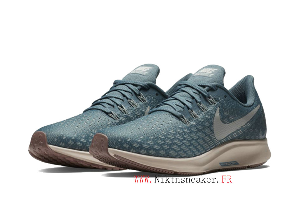 2020 Nike Air Zoom Structure 35 Gs Shoes Price Cheap Women ́s Sky Blue / Brown / White 942855 403