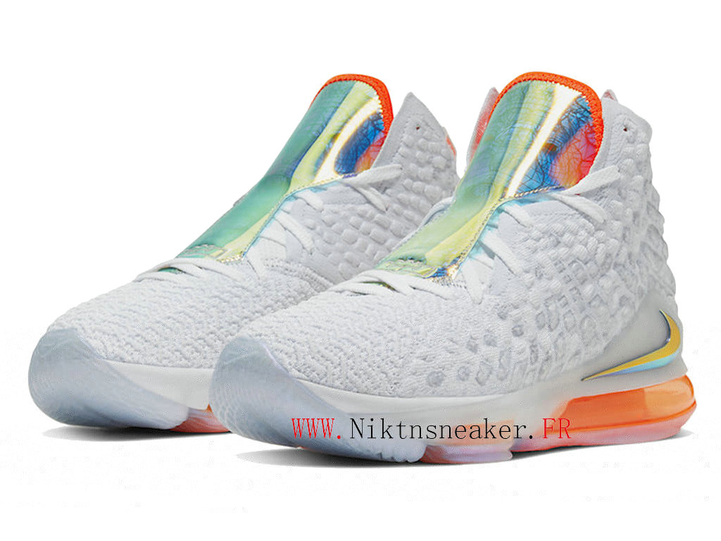2020 Nike LeBron 17 XVII EP Future Air White / Orange CT3843-100 Cheap Basketball Shoes For Men ́s
