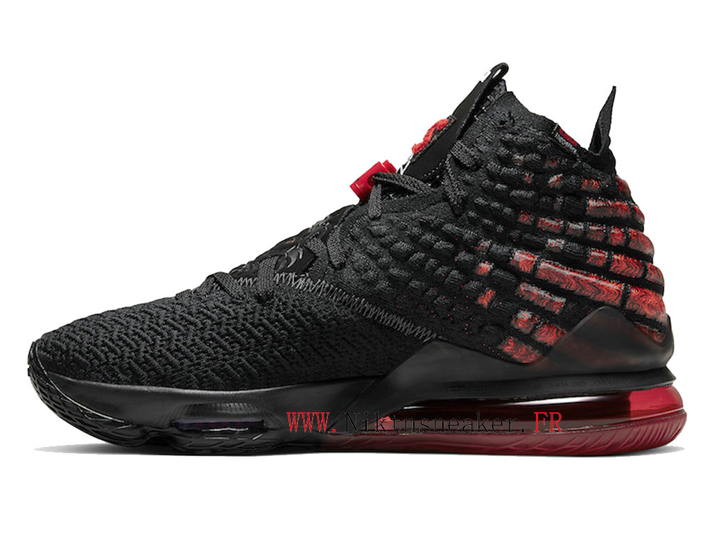2020 Nike LeBron 17 XVII Infrared Black / White / Red BQ3177-006 Men ́s Cheap Basketball Shoes For