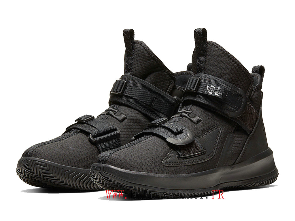2020 Nike LeBron Soldier 13 SFG EP AR4225-005 Men ́s Basketball Shoes Cheap All Star Black