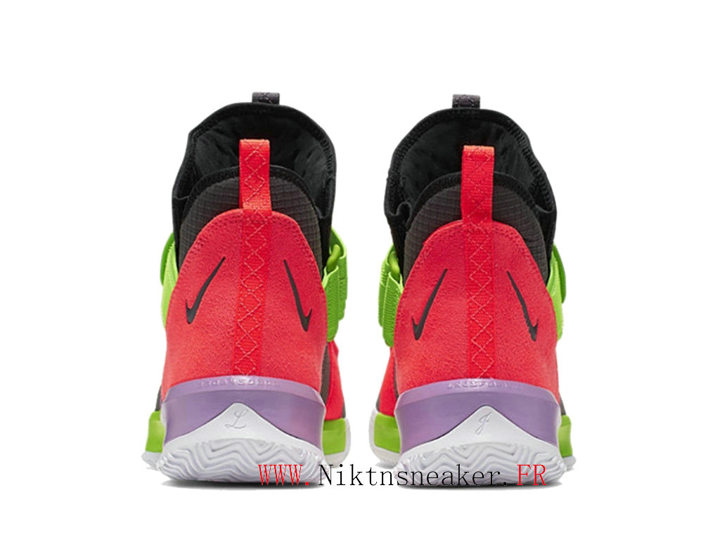 2020 Nike LeBron Soldier 13 SFG EP AR4228-002 Men ́s Basketball Cheap Shoes Black / Green / Red