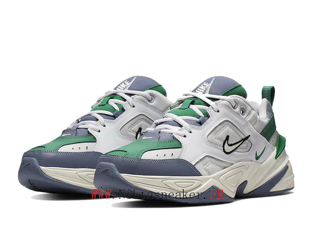 2020 Nike M2K Tekno / White / Gray Green AV4789-009 Sport Men ́s Women ́s Cheap Running Shoes