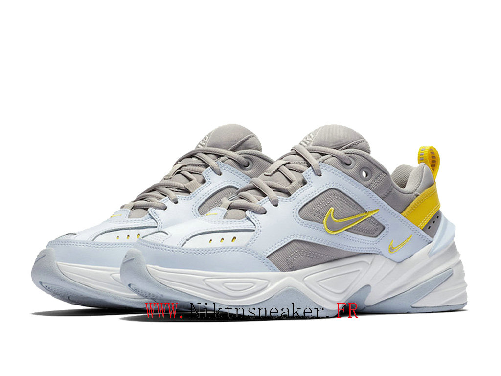 2020 Nike M2K Tekno Blue / Gray White AO3108-403 Sport Men ́s Women ́s Cheap Running Shoes
