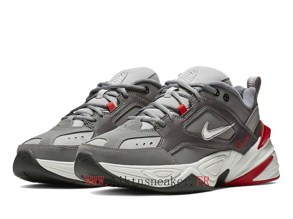 2020 Nike M2K Tekno Black / White / Gray Red BV2519-001 Sport Men ́s Women ́s Cheap Running Shoes