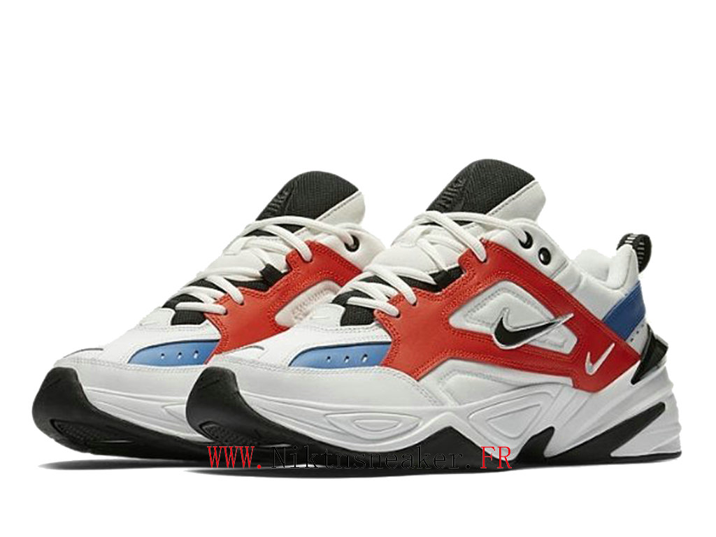 2020 Nike M2K Tekno Black / White / Red AO3108 101 Sport Men ́s Women ́s Cheap Running Shoes